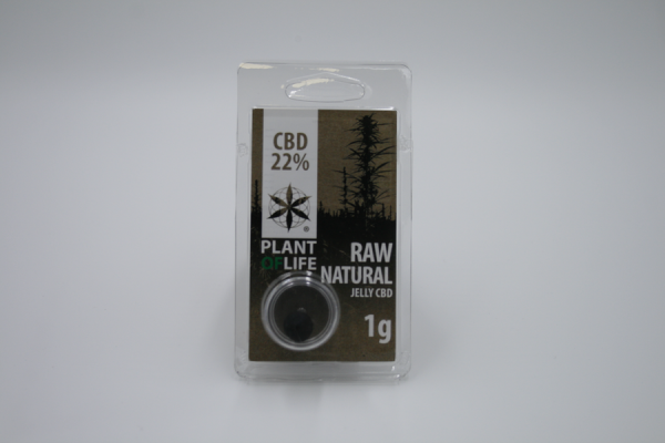 raw natural cbd jelly 22% plant of life